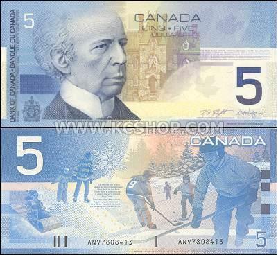 Canada Goose' fake $5 bill